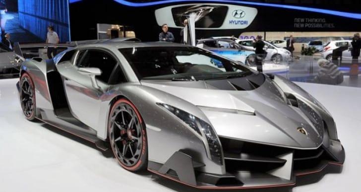 Lamborghini Veneno vs. 280 mph Bugatti Veyron – Extreme price