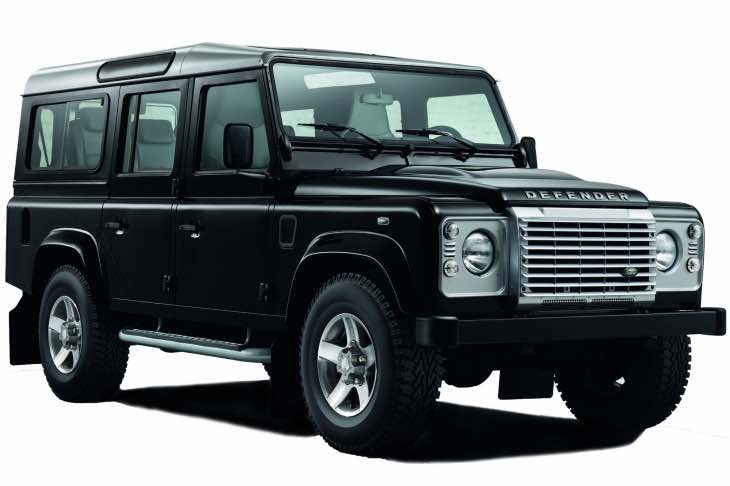 Land Rover Defender resurrected