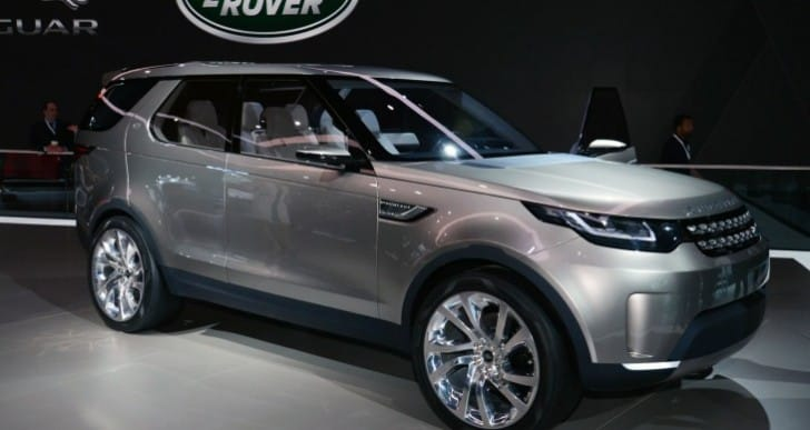 Discovery Sport 2015 production preparations
