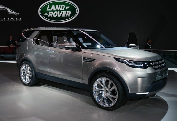 Land Rover Discovery Sport 2015 production preparations