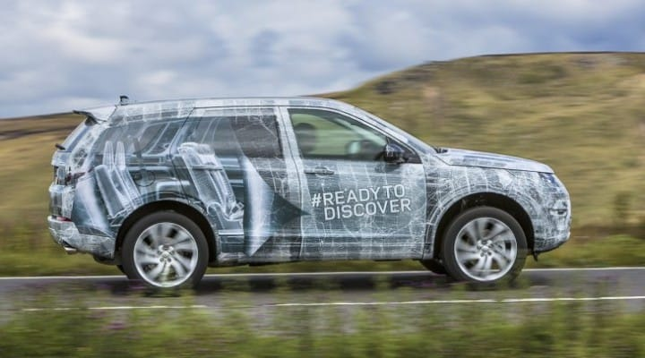 Land Rover Discovery Sport seating capacity like MPV