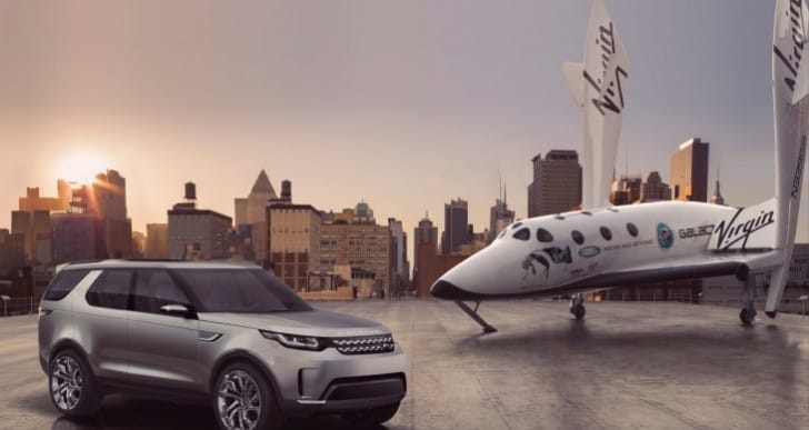 Land Rover Discovery Vision all-terrain capability