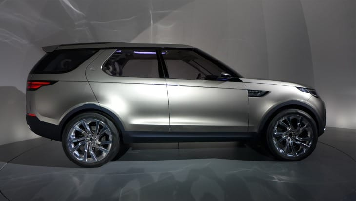 Land Rover Discovery Vision revealed