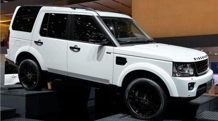 Land Rover Discovery XXV explored at 2014 Geneva Motor Show