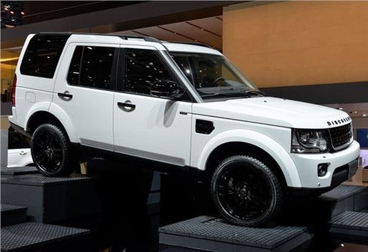 Land Rover Discovery XXV explored at 2014 Geneva Motor Show