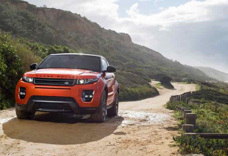 Land Rover Range Rover Evoque launch in India