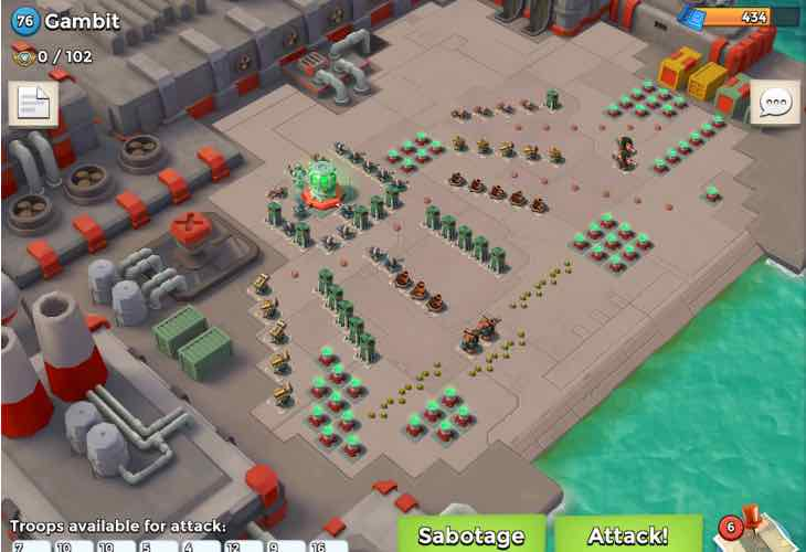 Lates Boom Beach problems