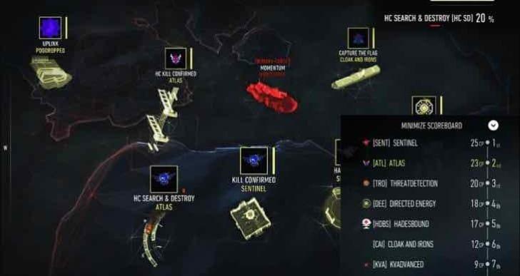 Latest Advanced Warfare companion app bug fixes, optimizations