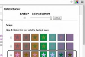 Latest Chrome extension overcomes partial color blindness