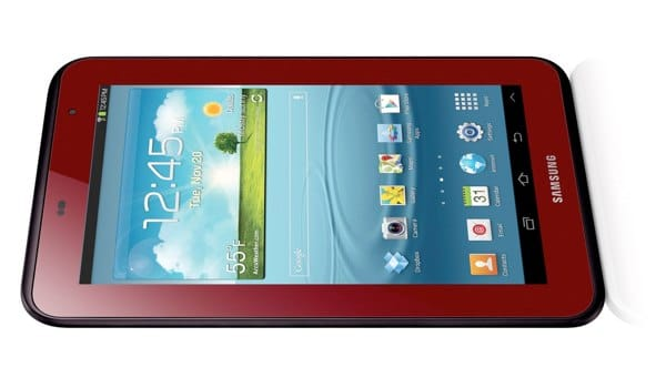 Latest Galaxy Tab 2 7.0 color and case bundle