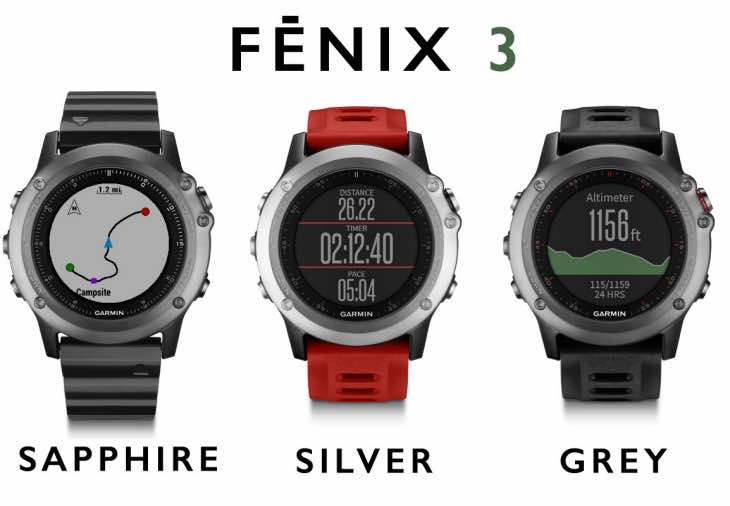 Latest Garmin Fenix 3 software update changes