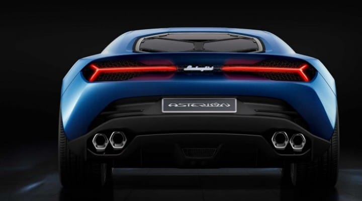 Latest Lamborghini Asterion eye candy shows exclusivity