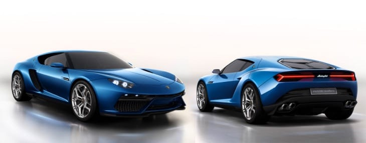 Latest Lamborghini Asterion eye candy