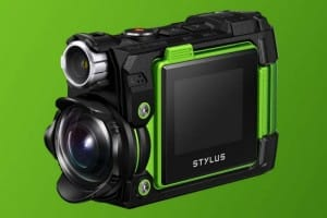 Latest Olympus action camera, the Stylus Tough TG-Tracker
