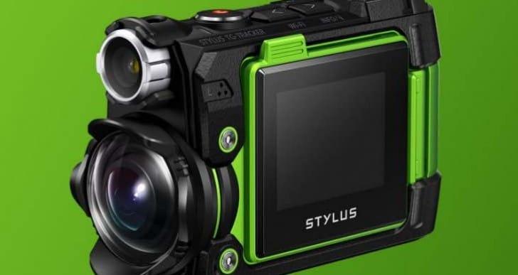 Latest Olympus action camera, the Stylus Tough TG-Tracker