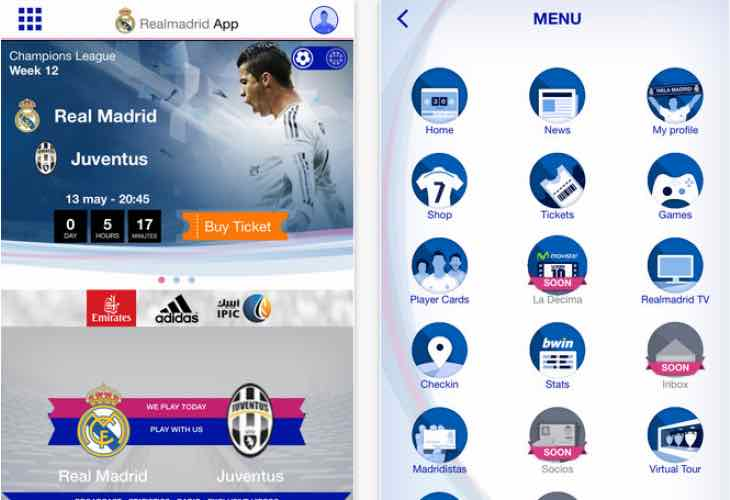 Latest Real Madrid, Man City transfer news now via apps ...