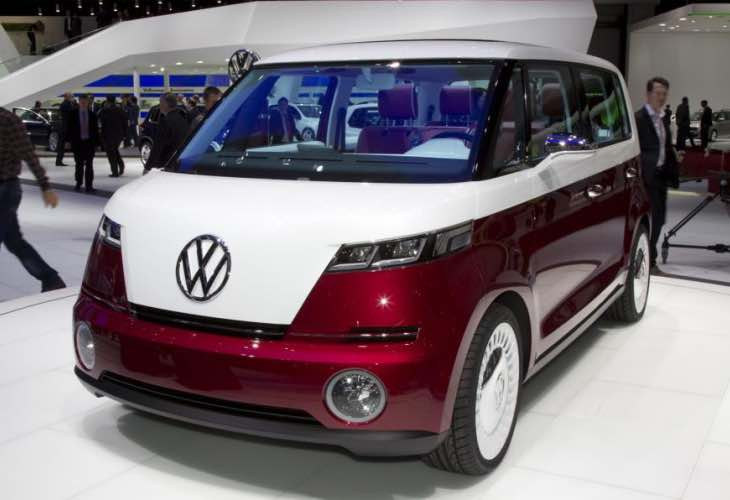 Latest VW electric Microbus image