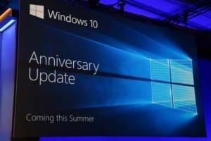 Preparing for Windows 10 Anniversary Update install