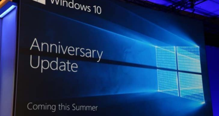 Windows 10 Anniversary Update is live tomorrow, no specific time