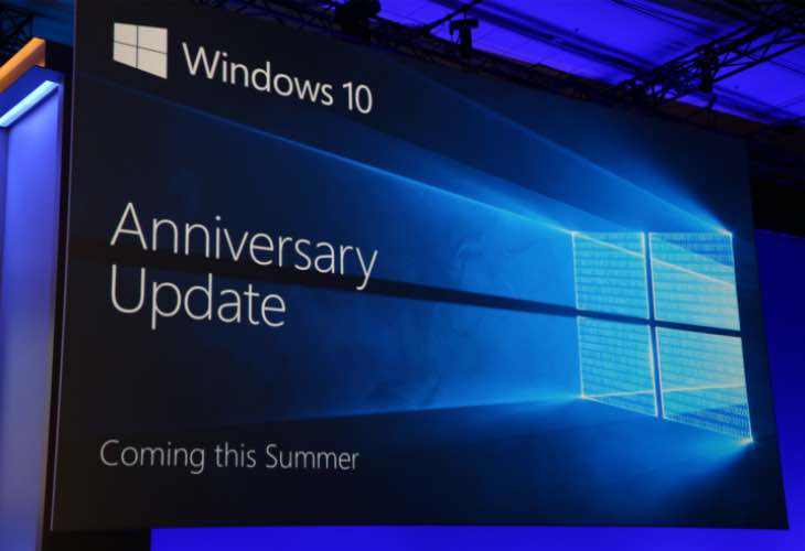 Latest Windows 10 Anniversary Update feature