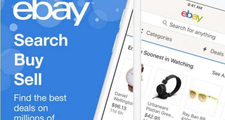 Latest eBay app update for easier Black Friday browsing