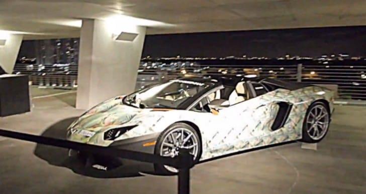 LeBron 11 kicks inspired Lamborghini Aventador Roadster