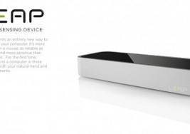 Leap motion sensor given visual review