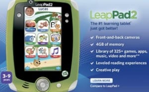 LeapFrog LeapPad 2 price changes the game