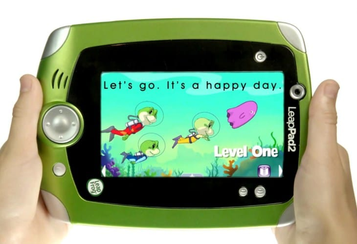 The LeapFrog LeapPad2 is still popular with the kids