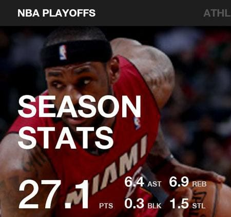 Lebron-app-for-Android