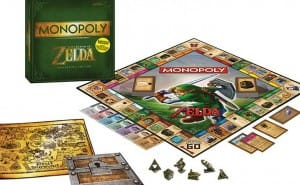 Legend of Zelda Monopoly, collectible tokens and power cards