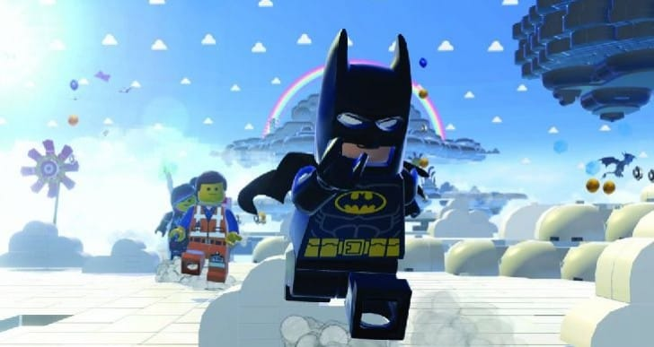 Lego Movie Videogame builds on top spot