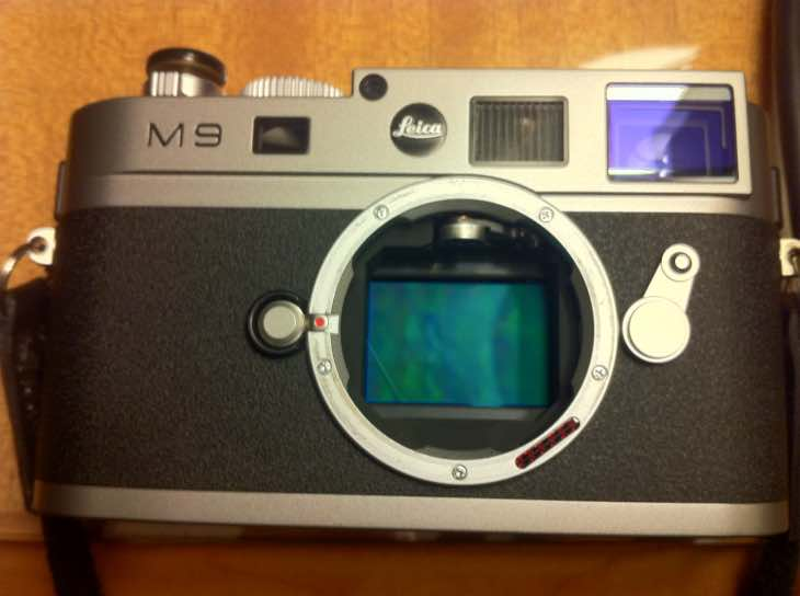 Leica M9 update on sensor