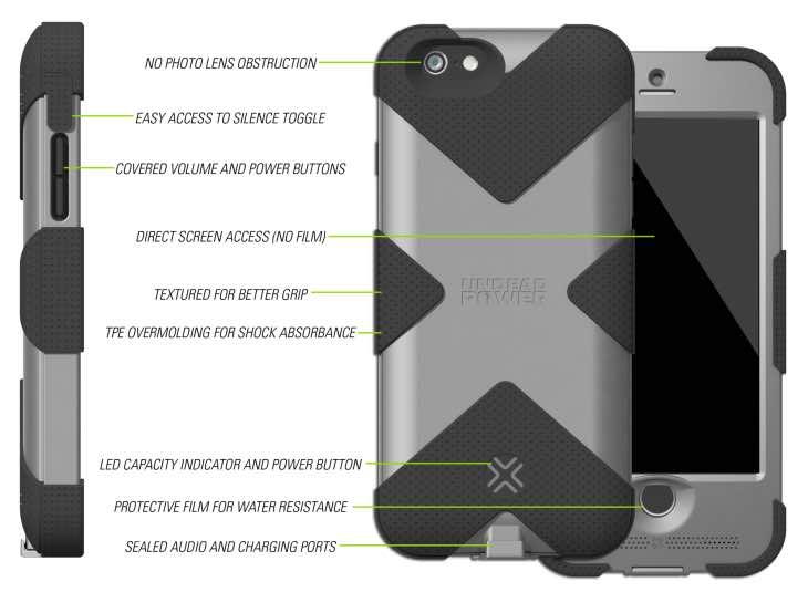 Lenmar HAVOC iPhone 6 case