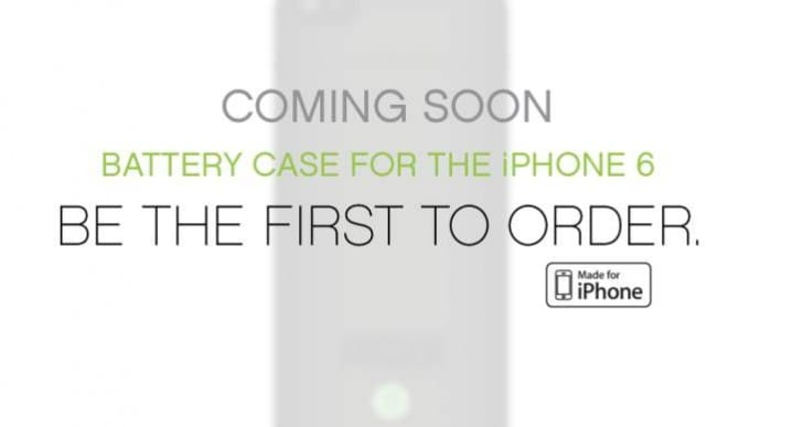 Lenmar iPhone 6 Power battery case soon