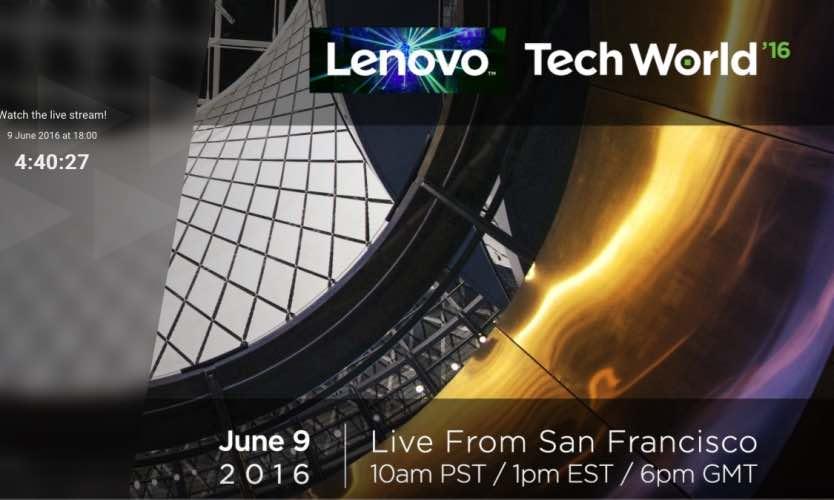 Lenovo keynote live stream