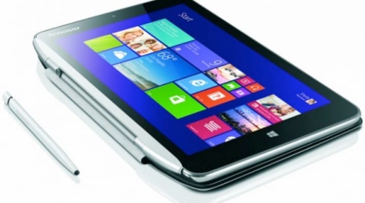 Lenovo's Windows 8.1 tablet with Intel Bay Trail