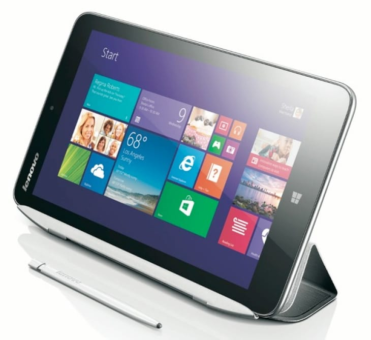Lenovo Miix2 8-inch tablet comes with Intel's quad-core processor