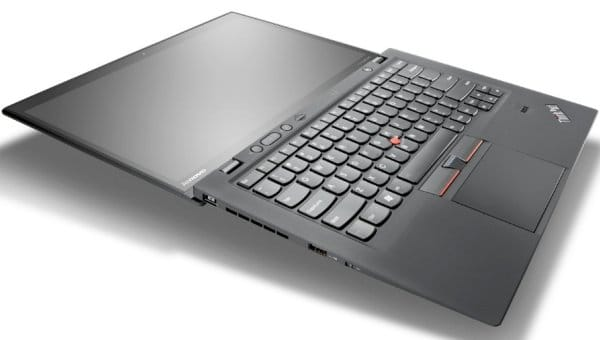 Lenovo's touchscreen ThinkPad X1 laptop with Windows 8