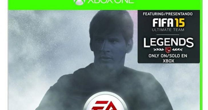FC Barcelona's Leo Messi graces FIFA 15 UT cover