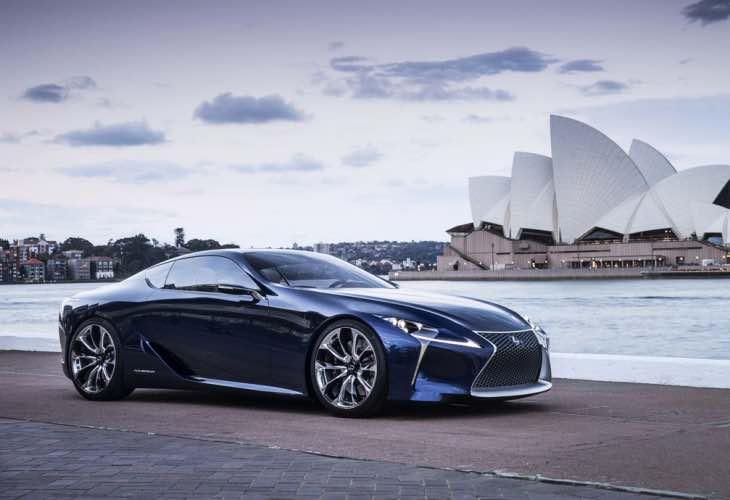 Lexus LC 500 release date