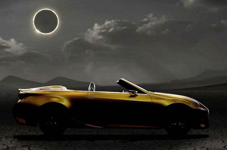 Lexus LF-C2, Bentley Grand Convertible LA Auto Show concepts