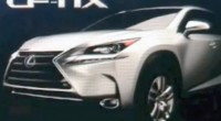Lexus NX production image one-ups competitors