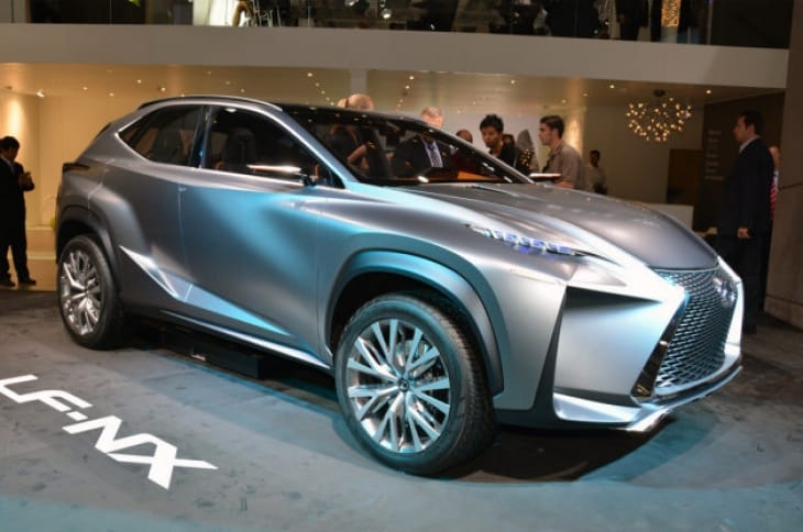 Lexus NX production image