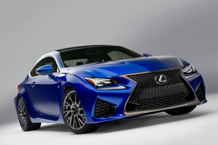 Lexus RC F Coupe in 2014