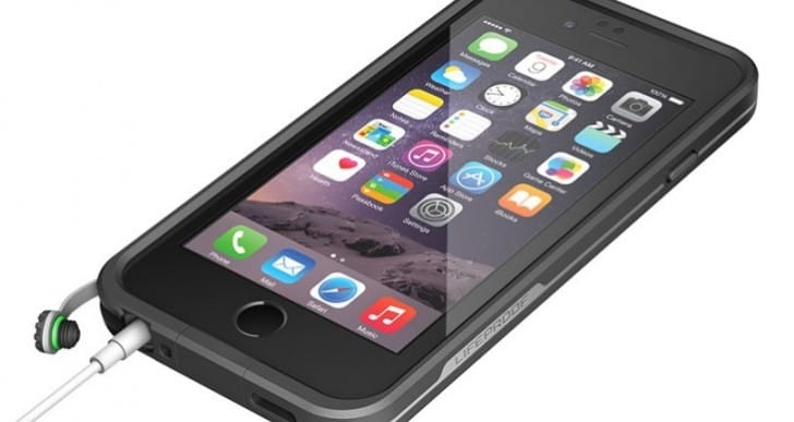 Lifeproof iPhone 6 waterproof case price now available