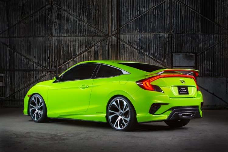 Likely 2016 Honda Civic and equipment