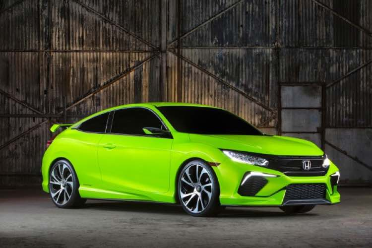 Likely 2016 Honda Civic body styles and equipment