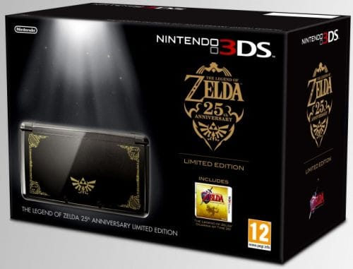 Limited Edition Zelda Themed Nintendo 3ds Incoming