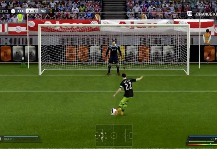 Lionel Messi joins Gareth Bale